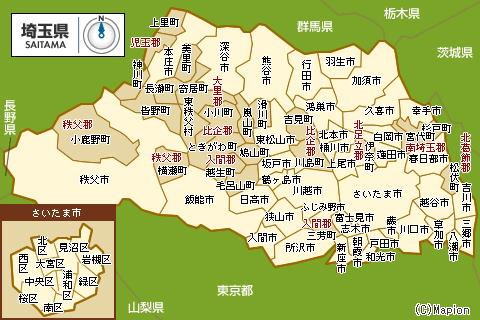 妥当性・正当性なき川越市新 ... : 東京都 白地図 無料 : 無料